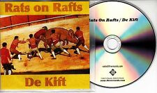 RATS ON RAFTS / DE KIFT S/T 2016 UK 10-track promo test CD