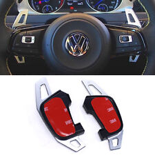 Silver Metal Paddle Shifters for VW MK7 MK7.5 Golf R GTI Extensions DSG Paddles