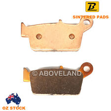 REAR Sintered Brake Pads T.M. SMR SMX 125 2T 2015