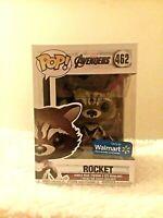 Funko Pop! Marvel Avengers Endgame Rocket 462 Walmart Exclusive