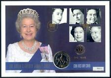 Great BritIain Golden Jubilee of Q.E.2nd £5 coin first day cover(2015/11/23#01)