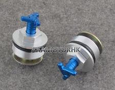 Preload Fork Cap For Suzuki DL650 V-Strom 2004-2011 Thumb Adjust Bolt x2