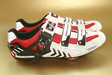 B'Twin Road Competition Men's Cycling Shoes – Carbon Sole, White, Size UK 9.5