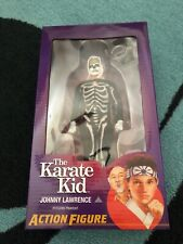 NECA Karate Kid Johnny Lawrence action figure in Skeleton costume Brand New