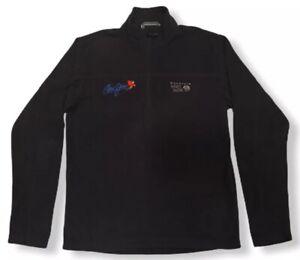 Mountain Hardwear MicroChill Lite Zip T Fleece Sweater Jacket Black Maui Jim