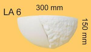 Gypsum Lamp Model Individually Adjustable Through Colour Or Trowel 300x150x155