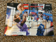 Lego 3433 Ultimate Arena NBA Sports Manual Instructions booklet Book Only NEW