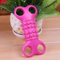 Durable Rubber Pet Dog Puppy Dental Teething Healthy Teeth Gums Chew Bone Toy