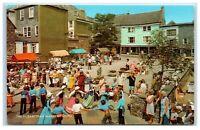 Postcard The Elizabethan Market Totnes Devon