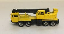 HOT WHEELS  ? 1981  CONSTRUCTION CRANE   YELLOW   c