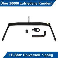 Anhängerkupplung starr+ES 7p uni AHK Für Opel Vectra B 4//5-Tür 98-02 Kpl