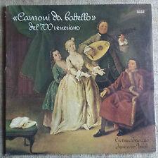 Canzoni da battello del 700 veneziano - LP Ares cc 3352 NUOVO / NEW