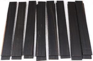 Good grade Gabon ebony guitar fingerboard fretboard blank