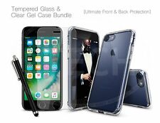 For Nokia 9 PureView (2019) - Glass Screen Guard, TPU Clear Gel Case &Stylus Pen