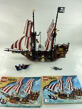 LEGO 6243 Pirates Brickbeard's Bounty w/Manuals 99% Complete Rare *READ*