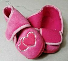 Baby Schuhe Mädchenschuh mit Herzen Kinderhausschuh versch.Größen  NEU