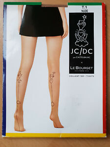 COLLANT TATOO LE BOURGET 15 DEN TAILLE 1 COULEUR NUDE