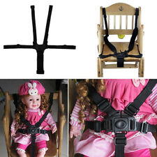 BABY 5-POINT SAFETY HARNESS BELT SEAT BELTS FOR STROLLER HIGH CHAIR STRAP TALK