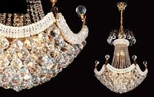 Brand New Large Elegant Crystal Chandelier