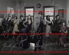 CASTLE TV SHOW CAST AUTOGRAPHED 8x10 RP PHOTO ALL 8 STANA KATIC NATHAN FILLION +