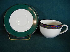 Dansk Emerald Braid Cup and Saucer Set(s)