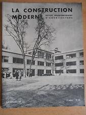 Revue - Catalogue construction moderne n°31 1936