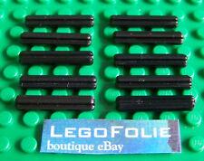 10 x Lego Technic 4519 Axle 3 - black