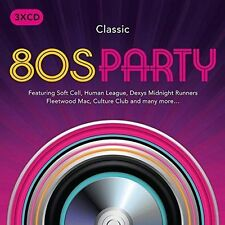 CLASSIC 80s PARTY various artists 3 CD 2016, 3 Discs Rhino Records Dance