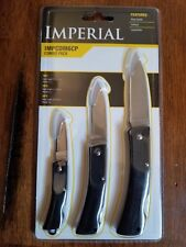 BRAND NEW IMPERIAL IMPCOM6CP 3 KNIFE COMBO PACK