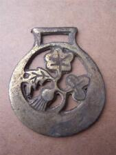 Horse Brass  Thistle   Height 3.5 inches Width 3 inches approx