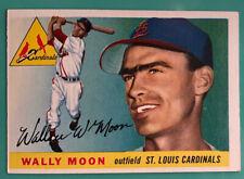 1955 Topps #67 Wally Moon St. Louis Cardinals Ex-Mint