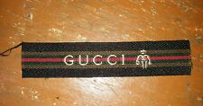 Rare GUCCI Sew on Woven Label Patch Cap T Shirt Jacket Craft diy + FREE SHIPPING
