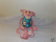 "Rare 18"" United Artists Pink Panther Plush in Easter Egg Costume & Bunny Ears ^"