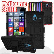 Microsoft Lumia Heavy Duty Hard Stand Case Cover for Nokia Lumia 640 & 640 XL