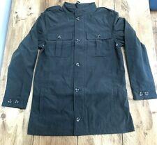 Mens Williams & Brown Khaki Green Military Jacket - Size Small 36/38