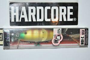 yo zuri duel hardcore 1oz noi-z 105f prop bait f1064-mgbg matte ghost bluegill