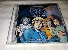 DR WHO REAL TIME 2CD. N/S COLIN BAKER, STEWART LEE & RICHARD HERRING BIG FINISH