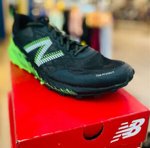New Balance Trail Summit Unknown Running Shoe,Men's,Black/Lime, Multiple sizes