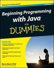 Beginning Programming with Java for Dummies (3rd edition)