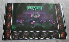 Testament 1990 Alex Skolnick Brockum LIVE Concert Music Poster #P7105 VG C6