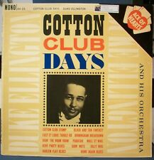 Duke Ellington - Cotton Club Days - 1962 U.K. Import Jazz LP