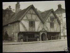 Glass Magic Lantern Slide  WINCHESTERS OLDEST HOUSE C1910