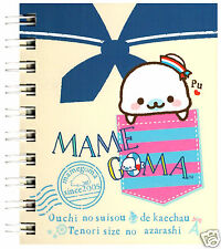 San-x Mamegoma Sailor Pocket Spiral Kawaii Notebook