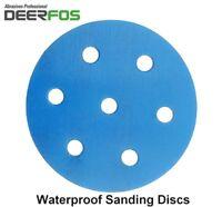 90mm Wet or Dry Hook & Loop Sanding Discs 40-3000 Sandpaper Pad f. FESTOOL RO90