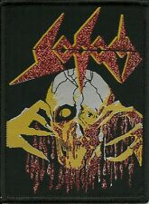 SODOM-OBSESSED BY CRUELTY-WOVEN PATCH-THRASH METAL