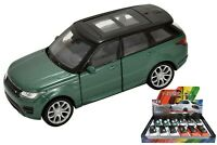Welly Metal Die Cast Pull Back 4.5'' Range Rover Sport Kids Vehicle Car Toy New