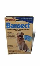 Sergeants Bansect Flea & Tick Control Treatment Medicine For Dog Over 33 Lbs Dog
