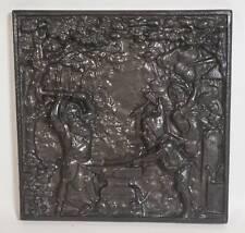 Rarität original SHW Eisen Kunst Guss Relief Bild Zwerge Dwarf Bergbau Schmied