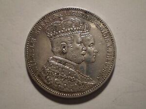 SBQ20 German States Prussia Coronation 1861 silver thaler