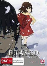 Erased : Vol 1 : Eps 1-6 (DVD, 2017)